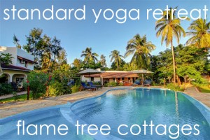 standard yoga retreat - flame tree cottages